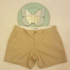 Womens Old Navy Beige Khaki Chino Shorts Size 8 Career Casual #700   Clothing, Shoes & Accessories, Womens Clothing, Shorts   eBay! Shopping!