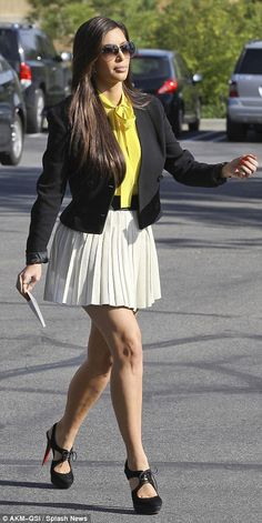 7751370aa94 Kim Kardashian goes to Easter church service with family after racy few  days with Kanye West