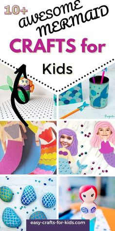 Easy Mermaid Craft Ideas