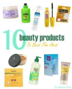 10 Beauty Products to Beat the Heat from SixSistersStuff.com
