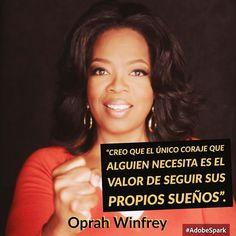 """""""Creo que el único coraje que alguien necesita es el valor de seguir sus propios sueños"""". Oprah Winfrey #tumejornocopias #goodmorning #felizlunes #islademargarita"""
