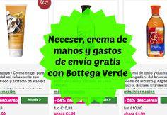 No os perdáis la promo que ofrece Bottega Verde: regala un neceser y crema de manos ¡Entra y descubre todos los detalles!