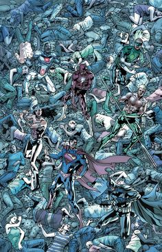 BRYAN HITCH Planning Long Run on JLA, With JUSTICE LEAGUE Crossover Possible   Newsarama.com