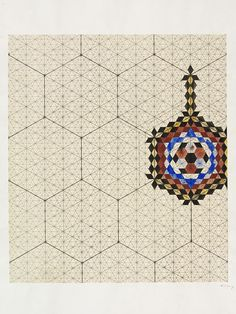 Designs for tiles in Islamic style | Jones, Owen | V&A Search the Collections