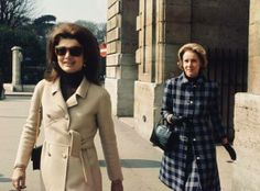 Jackie and her closest friend and confidante, Nancy Tuckerman.