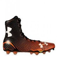 8d330a53b24 Size Under Armour Mens Highlight MC Football Cleats Size Black Orange.
