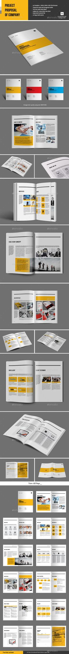 Construction Company Proposal Template Vol4 Proposal templates - construction work proposal template