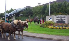Spangdahlem, Germany. As the proud daughter of a military family, I lived here when I was younger.