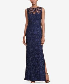 340.00$  Buy now - http://vifmy.justgood.pw/vig/item.php?t=xzsqtq118945 - Lace Open-Back Gown