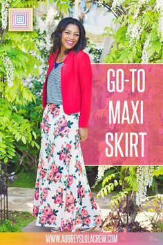 With flowy layers and a flattering silhouette, our go to Maxi Skirt is all you could have asked for and more. Dress up this gorgeous bold maxi skirt with heels and one of our beautiful LulaRoe tops for the perfect engagement shoot outfit, or dress it down with a casual LulaRoe tank for going to brunch. #cuteoutfit #lularoeskirt #fashionstyle #classystyleinspiration #lularoe #aubreyslulacrew