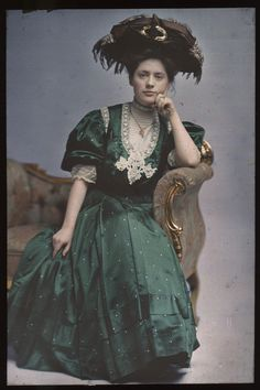 Woman in Green Dress | National Museum of American History