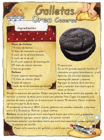 Tartas, Galletas Decoradas y Cupcakes: Cookies de Oreo