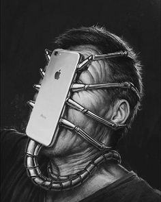 Surreal Illustrations That Depict The Horrible Truth About The Downfall Of Modern Society Social Media Art, Satirical Illustrations, Wow Art, Art Plastique, Surreal Art, Fantasy Art, Art Drawings, Street Art, Illustration Art