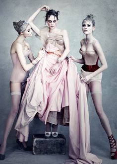 DIOR | DIOR COUTURE, PHOTO BY PATRICK DEMARCHELIER