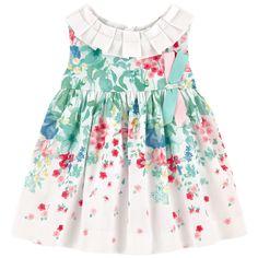 Kleid mit Blumenaufdruck
