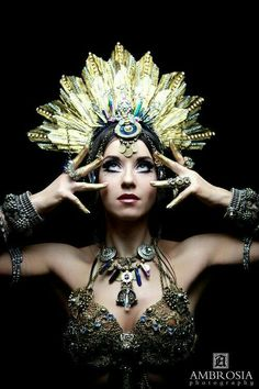 I want to wear this headdress to work