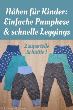 Sewing bloomers and leggings for children: the 2 best and easiest cuts! - Active with children - For me, the best patterns for pimp pants and leggings. You are in the right place about kids playgro - Fashion Kids, Baby Boy Fashion, Fashion Dolls, Fashion Games, Womens Fashion, Baby Leggings, Kids Clothes Sale, Diy Clothes, Clothes Storage