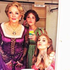 "From mara davi on Instagram ""Like mother, like daughters...#PMPEverAfter #royalbeautytips #nocinders"""