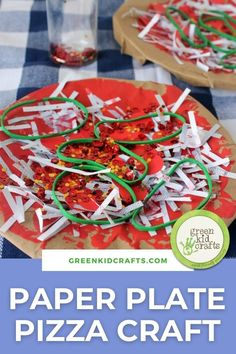 Random household items or office supplies often turn into some of the best craft supplies…labels, rubber bands… As a big fan of paper plate crafts for kids to make, I decided to create a fun arts and crafts activity around this and some office supply items we had around the house–Kid-Made Paper Plate Pizzas! This Paper Plate Pizza craft is a fun way to encourage art and share the pizza-making process. @artscrackers #mothersdaygifts #kidscrafts #crafts #papercrafts #greenkidcrafts
