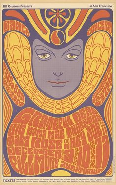 Dec. 9-11, 1966: Grateful Dead, Big Mama Mae Thornton, Tim Rose, Key Joe. Fillmore Auditorium, San Francisco, CA. Poster art by Wes Wilson.