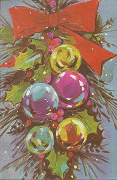 these may cost a pretty penny but would love to send them out! vintage Christmas card