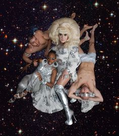 'Bunny in the Sky with Diamonds', I LOVE Lady Bunny, Bitch may be Old, but she is Fierce! RPDR Alumni, and Wigstock Survivor. She Is Fierce, Lgbt Community, Drag Queens, Rupaul, Showgirls, Hairspray, Big Hair, Superstar, Bunny