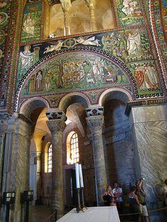 San Vitale, Ravenna by sjmcdonough, via Flickr