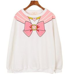 Wanna wear a Sailor Moon pullover? - This is perfect for any Sailor Moon lovers! - While Supplies Last! Limit 10 Per Order Please allow 4-6 weeks for shipping Item Type: Hoodies, Sweatshirts Clothing