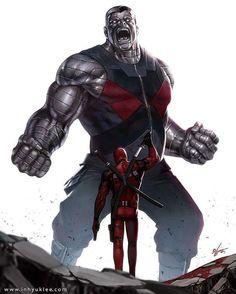 Colossus vs Deadpool by In-Hyuk Lee Download images at nomoremutants-com.tumblr.com #marvelcomics #Comics #marvel #comicbooks #avengers #captainamericacivilwar #xmen #Spidermanhomecoming #captainamerica #ironman #thor #hulk #ironfist #spiderman #inhumans #civilwar #lukecage #infinitygauntlet #Logan #X23 #guardiansofthegalaxy #deadpool #wolverine #drstrange #infinitywar #thanos #gotg #RocketRaccoon #cyclops #nomoreinhumans http://ift.tt/2gLhaho