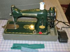 Antique Sewing Machines, Straight Stitch, Sewing Toys, Sewing Accessories, Singer, Antiques, Ebay, Antiquities, Antique