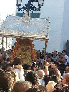 Procesión Salida de la Virgen del Rocio #5deMayo