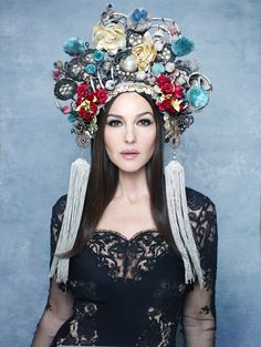 Monica Bellucci by Rankin in Belladonna for The Hunger no. 2