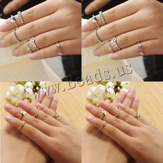 Mid Finger Ring Zinc Alloy plated with rhinestone nickel lead cadmium free US Ring wholesale jewelry beads Mid Finger Rings, Semi Precious Beads, Lampwork Beads, Wholesale Jewelry, Gemstone Beads, Beaded Jewelry, Glass Beads, Plating, Wedding Rings