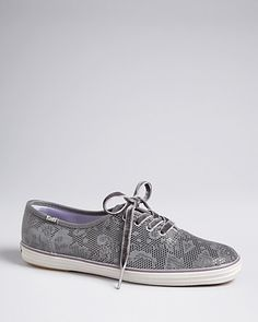 Keds Champion Sneakers - Metallic Lace | Bloomingdale's