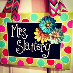 Items similar to Custom Canvas Name Sign on Etsy Teacher Door Signs, Classroom Door Signs, Teacher Door Hangers, Teacher Doors, Classroom Decor, Teacher Graduation Gifts, Great Teacher Gifts, Teacher Appreciation Gifts, Painted Name Signs