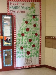 Image result for Christmas Door Decorating Contest Winners