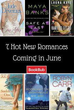 Maya Banks, Jude Deveraux, & Robyn Carr have new books out this month!