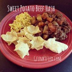 Sweet Potato Beef Hash