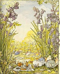 Brambly Hedge, beautiful artwork, a constant inspiration.
