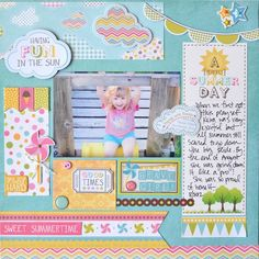{creative crafting}: {carta bella - a perfect summer day}