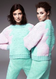hm fashion minju kim7 Anais Pouilot & Marikka Juhler Wear the 2013 H&M Design Award Winners Collection