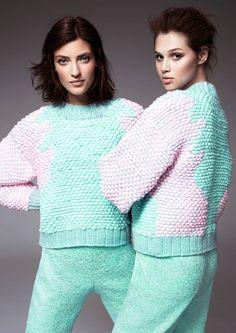 hm fashion minju kim7 Anais Pouilot & Marikka Juhler Wear the 2013 H&M Design Award Winners Collection