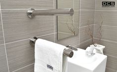 Truego, Heated towel rail. DCShort ltd.