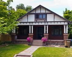 Tudor Revival Style Bungalow House | Flickr - Photo Sharing!