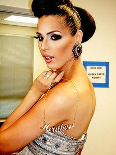 Carmen Carrera... The baddest Drag queen in the game... Next to Ru of course!!