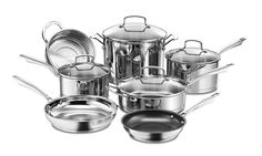 Cuisinart Professional Series Stainless Cookware Set: Cuisinart Professional Series Stainless Cookware Set (11-Piece)
