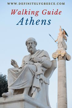 Walking Guide to Athens Greece. The beautiful capital of Greece has a lot of ancient ruins and history! Book your trip to Greece now and experience Greece! Athens City, Athens Greece, Hellenic Army, Greek Chorus, Parthenon, Ancient Ruins, Thessaloniki, Greece Travel, Countries Of The World