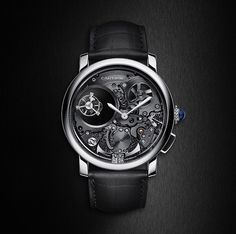 #Cartier  A tour de force #Rotondedecartier Minute Repeater Mysterious Double Tourbillon #SIHH2017 #Paris #watches #Elegance #Fashion #Menfashion #Menstyle #Luxury #Dapper #Class #Sartorial #Style #Lookcool #Trendy #Bespoke #Dandy #Classy #Awesome #Amazin