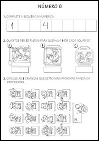 O Mundo da Alfabetização: Atividades com números - 0 a 9 Preschool Math, Diagram, Education, Words, Atv, Letter C Activities, Literacy Activities, Infant Activities, School Today