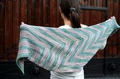 Sencha shawl